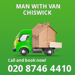 Chiswick men and van W4